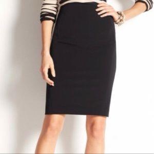 Ann Taylor Black Pencil Skirt